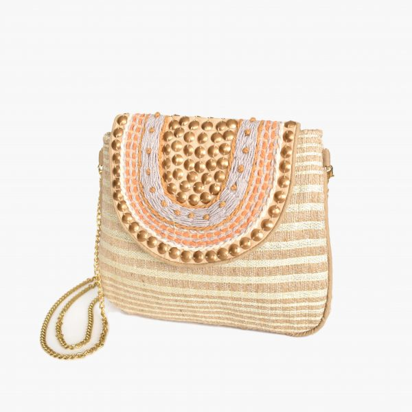 Beaded Pouch Bag