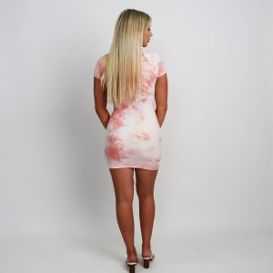Tie Dye Vibes Dress – Pink